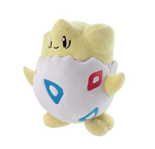 zhengboasd Weiches Spielzeug, Kleines Plüsch Togepi Modespielzeug Kuscheltiere Puppen Geburtstagsgeschenk Für Kinder 15cm Gelb