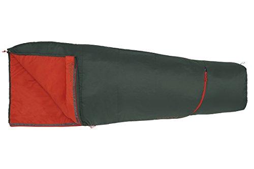 Kelty Rambler 50 Degree Sleeping Bag, Sycamore/Fire Orange, Regular