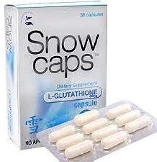 Snow caps L-GLUTATHIONE Dietary Supplement 30 Capsules 【PHILIPPINES】