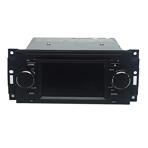 Best Price LETAOSK 5'' Car DVD GPS Navi Radio Stereo Set Fit for Dodge RAM Chrysler 300C/Jeep Grand ...