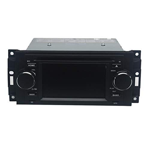 Best Price LETAOSK 5'' Car DVD GPS Navi Radio Stereo Set Fit for Dodge RAM Chrysler 300C/Jeep Grand ...
