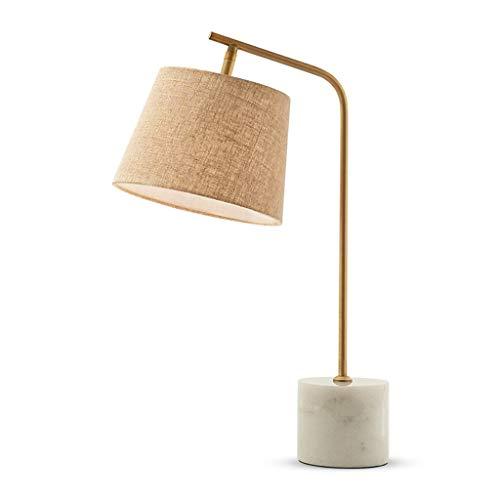 Lámpara de Mesa Lámpara de Mesa de mármol nórdico Dormitorio Lámpara de...