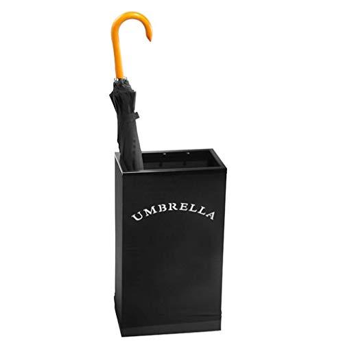 GONGFF Schmiedeeisen Schirmständer Montage Flache Saugfähige Haushaltsschirmständer Büro Abnehmbare Schirmrohr Korridor Schirmständer (Farbe: B)