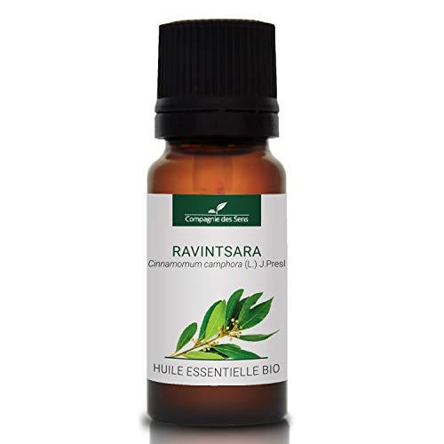 RAVINTSARA BIO - 10mL - Huile Essentielle de qualité Premium - 100% Pure, naturelle, intégrale - Renforcement de l'immunité - La Compagnie des Sens