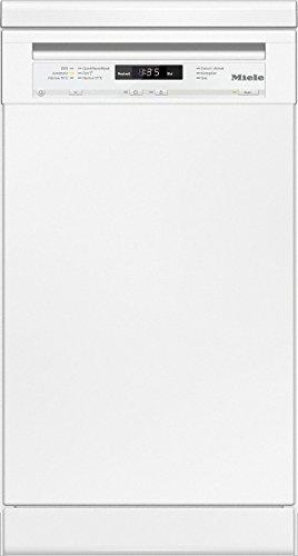 Miele G4720 SC D BW230 2,0 Geschirrspüler / 221 kWh / 9 MGD / Besonders sparsam mit EU-Energieeffizienzklasse A+ / Bequemes und Entladen Besteckschublade