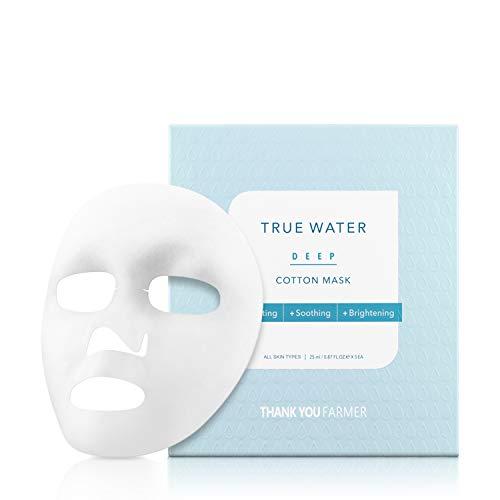 Thank You Farmer True Water Deep Cotton Mask