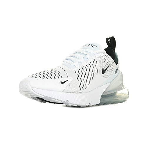 Nike Damen W AIR MAX 270 Laufschuh, Weiß White Black White 100, 41 EU