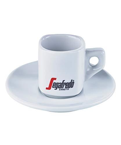4x Segafredo Espressotassen Service