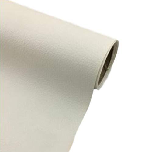 [Fumemo] レザーシール 貼るレザー PU 合皮 レザー 革 家具 ソファ 車 シート 財布 バッグ 修理 (白)