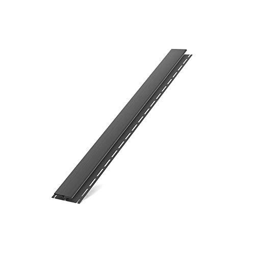 Bryza Kunststoffpaneele Graphit RAL 7021  Verkleidung   Aussen & Innen   Unterdach  Verbindungsleiste H 150x8,1x2cm