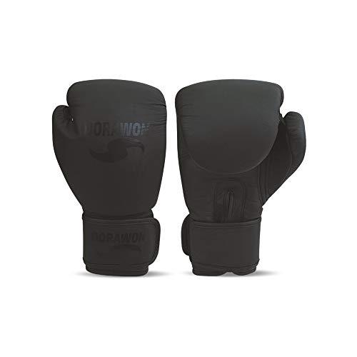 Dorawon, Guantes de Boxeo de competición de Cuero Black Talla 8 oz,...