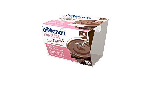 BiManán beSLIM - Crema Sustitutiva Lista para Tomar, Sabor Chocolate, para ayudarte a controlar tu peso - 210g