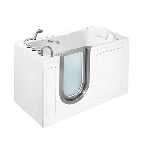 Ella's Bubbles H93057 Deluxe walk-in-bathtubs 30x55x38 White