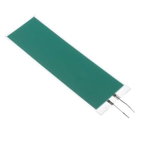 SM SunniMix El Tamaño Del Panel Azul 4.7 × 15.8cm / 1.85 X 6.22 Pulgadas Blanco 3.3 × 12.7 - Azul