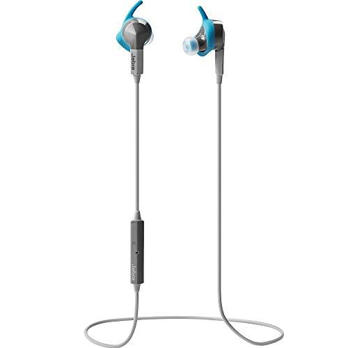 Jabra Sport Coach Bluetooth Kopfhörer (Wireless, Special Edition, kabelloser Stereo Sport-Kopfhörer mit In Ear Bewegungssensor, geeignet für Handy, Smartphone, Tablet und PC) grau/blau