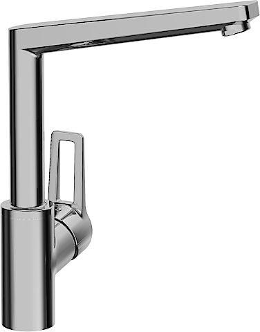 Hansa–09202205Twist-Armatur Küche Auslauf/hoher drehbar Kopf Stil Chrom