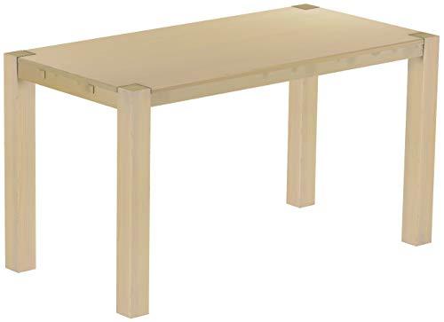 Brasilmöbel Hochtisch Rio Kanto 200x100 cm Birke Bartisch Holz Tisch Pinie Massivholz Stehtisch Bistrotisch Tresen Bar Thekentisch Echtholz Größe und Farbe wählbar