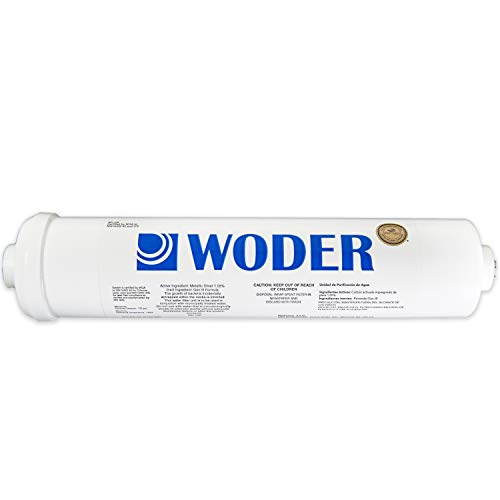 Woder 5K-JG Ultra High Capacity IJsmachine/RV/Inline Koelkast Water Filter - Commercieel/Residentieel Filter met 1/4