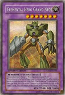 Yu-Gi-Oh! - Elemental Hero Grand Neos (CT04-EN001) - 2007 Collectors Tins - Limited Edition - Secret Rare