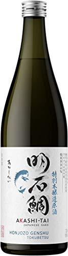 Akashi Sake Brewery Honjozo Genshu Tokubetsu 19%vol NV (1 x 0.72 l)