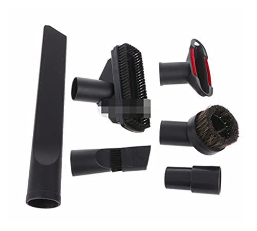 CML 6 en 1 Limpiador de Aspirador Boquilla de la Boquilla para el hogar Kit de Herramientas de la Escalera de la Escalera 32 mm 35mm # C05#