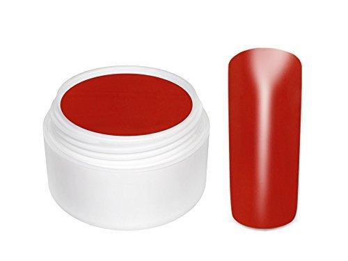 Gel de Couleur ORANGE SANGUINE- 5 ml- pour les ongles et faux ongles
