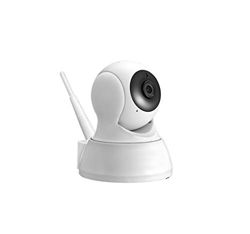 Dingziyue Home Security Camera 720p HD - Baby, Pet, Nanny Beste Monitor - WiFi Smart Indoor Surveillance Internet Cam met Night Vision, Pan/Tilt, Two Way Audio, Motion Sensor