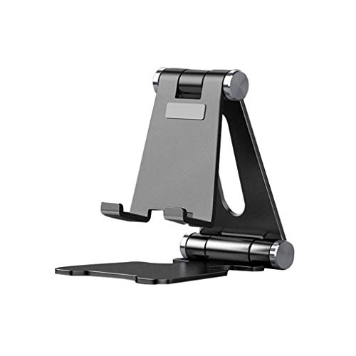XYSQWZ Household Folding Phone Holder, Live Performance NBA Webcast Phone Tripod - Small Stereo Decoration Universal Universal Support Frame (Color : Red, Size : 8.85 * 7.5 * 11.4cm)