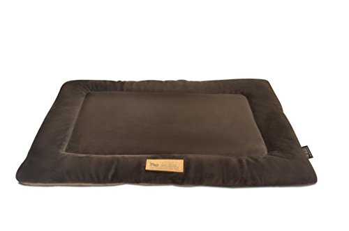 P.L.A.Y. (Pet Lifestyle And You) Chill Pad Tapis pour Chien Chocolat/Noisette Taille XS