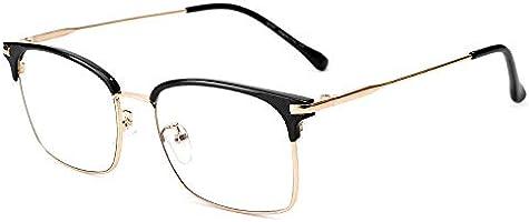 Cyxus Blue Light Blocking Glasses Anti Eyestrain Headache Computer Use Eyewear, Classical Metal Half Frame Unisex