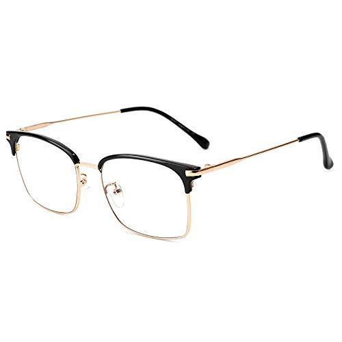 Cyxus Blaulichtfilter Brille, TR90 Superleicht Brille, Halbrahmen Silber Brille