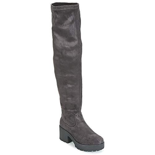 Coolway Imid Botas Mujeres Gris - 40 - Botas A La Rodilla Shoes