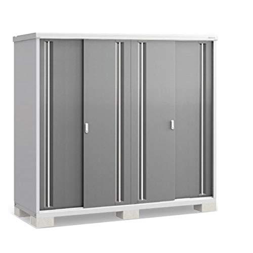 イナバ物置 MJX/シンプリー MJX-217E 全面棚タイプ 『屋外用収納庫 DIY向け 小型 物置』 PG(プレミアムグレー)