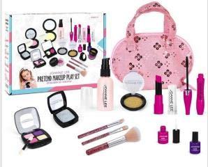 BestCool Stellen Sie Sich vor, Sie Spielen Make-up-Set, 12-teiliges Kinder-Make-up-Set Simulation...