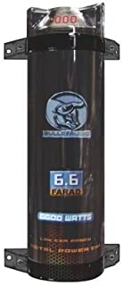 Xscorpion bcap6.6 Bullz Audio Bcap 6.6 Farad Capacitor Car Digital Power (bcap6.6)