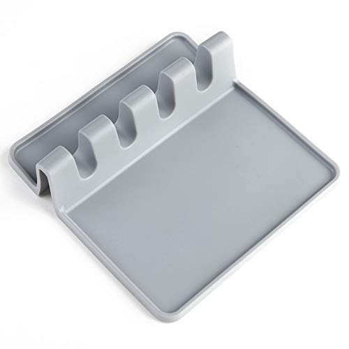 QWERTB Organizer voor keukenaccessoires, van silicone, draagbaar, multifunctioneel