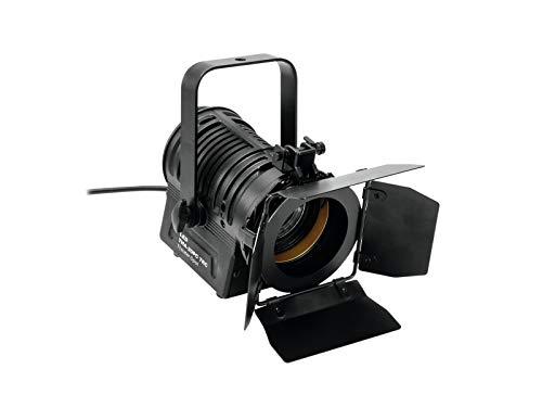 Eurolite LED THA-20PC TRC Theater-Spot sw | Lüfterloser PC-Scheinwerfer mit 17-W-Weißlicht-LED, Farbwiedergabe (CRI) >90 | Perfektes Weißlicht für Messen, Ausstellungen und Ladenbeleuchtung