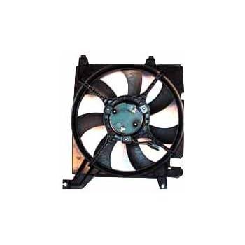 TYC 600610 Hyundai Santa FE Replacement Radiator Cooling Fan Assembly