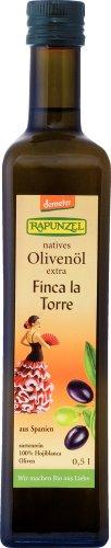 Rapunzel Olivenöl Finca la Torre, nativ extra, demeter, 1er Pack (1 x 500 ml) - Bio