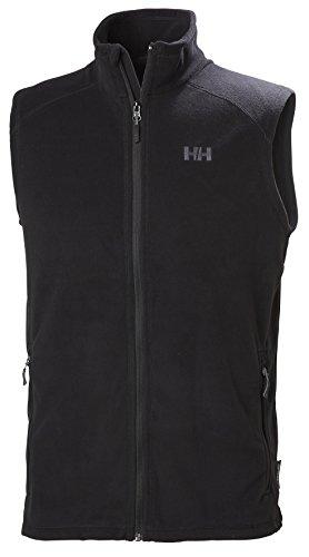 Helly Hansen Herren Daybreaker Fleece Vest, Schwarz (Black), Large