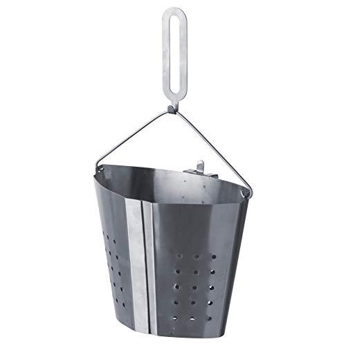 IKEA Edelstahl Kochendes Einsatz abnehmbarem Griff Kochen verschiedene Lebensmittel in einem Topf gleichzeitig stabil