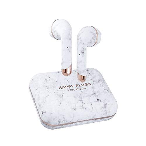 Happy Plugs Air 1 Plus Earbud - Auriculares inalámbricos True Wireless 100 dB, Resistente al Sudor,...