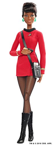 Barbie - Muñeca Fashion, Star Trek 50 Aniversario Uhura (