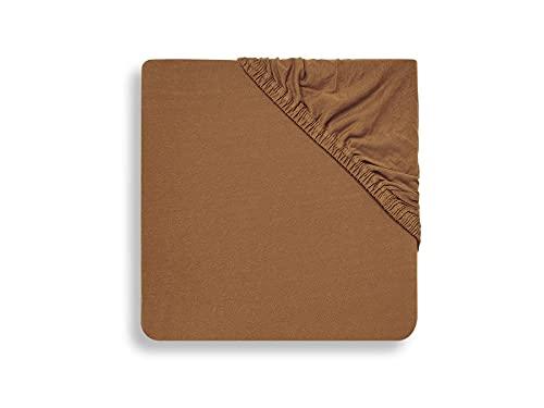 Jollein - Sábana bajera (80 x 90 x 40 cm), color marrón
