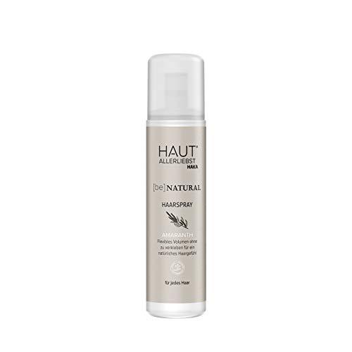 HAKA Haarspray I 200 ml I Hairspray für Haarstyling für Männer und Frauen I Antistatisch und ohne Verkleben I Pflegespray mit Amaranth-Öl