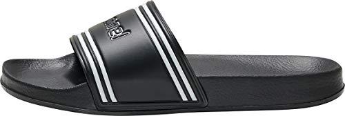 hummel Unisex-Erwachsene Pool Slide Retro 206575 Badeschuhe, Schwarz (Black 2001), 37 EU