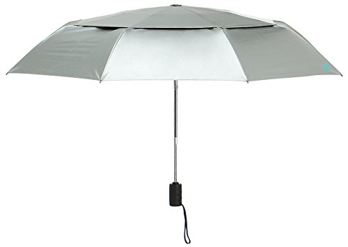 Coolibar Damen UV-Schutz Sonnenschirm, Weiß, OneSize