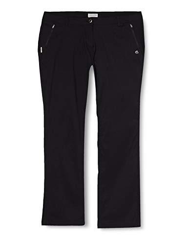 Craghoppers Pantalon stretch Kiwi Pro femme-Noir (Black)-FR:48