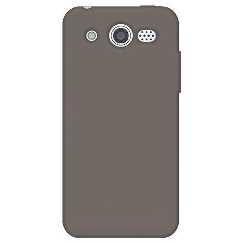 Amzer AMZ93110 Silikon-Schutzhülle für Huawei Mercury M886, Einzelhandelsverpackung, Grau