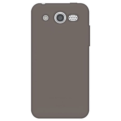 Amzer AMZ93110 Silikon-Schutzhülle für Huawei Mercury M886, Grau